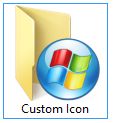 How to change folder icon in Windows