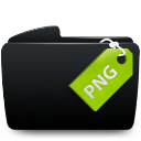 How to use png image as folder icon